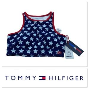 NWT Tommy Hilfiger compression sports bra